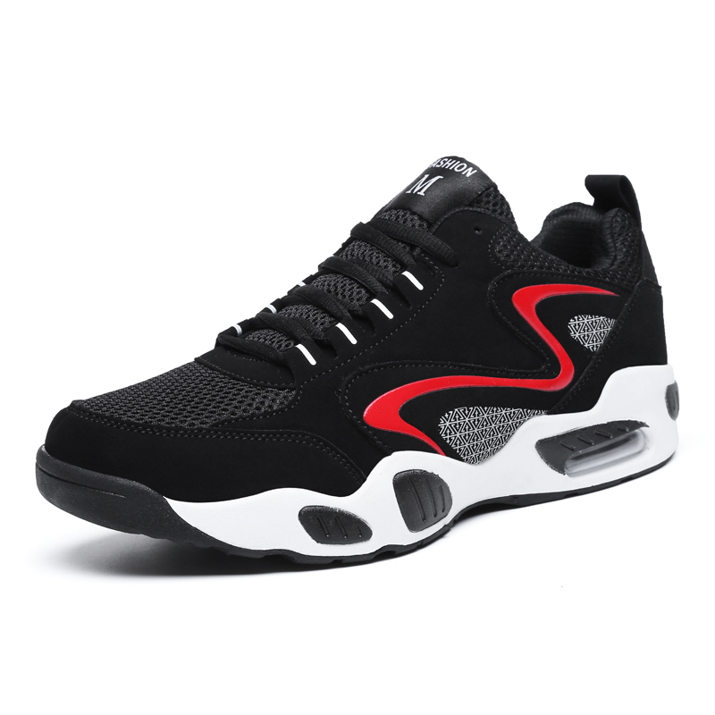 Men Basketball Sneakers Light Breathable Air Cushion Basketball Sports Shoes Outdoor Trainers