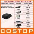 Настроить GPS Модуль Приемника с Антенной Ublox 6010 Интерфейс USB PS2 MOLEX Для Наушников 3.5 Уровня Выходного Сигнала USB TTL RS232 DB9