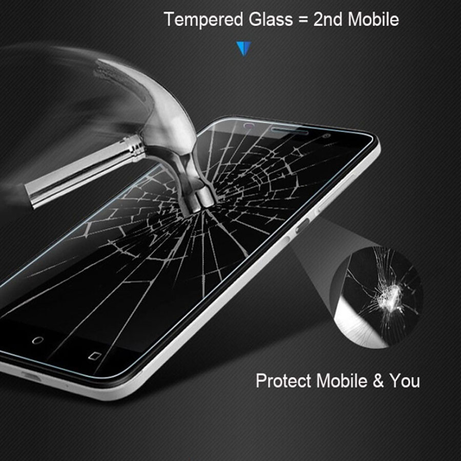 Image 2 - For BQ Strike 5020 Tempered Glass For BQ Strike 5020 2.5D 9H Premium Screen Protector Toughened Glass Anti glare Guard Film Case-in Phone Screen Protectors from Cellphones & Telecommunications