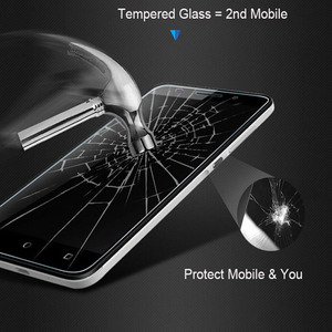 Image 2 - For BQ Strike 5020 Tempered Glass For BQ Strike 5020 2.5D 9H Premium Screen Protector Toughened Glass Anti glare Guard Film Case