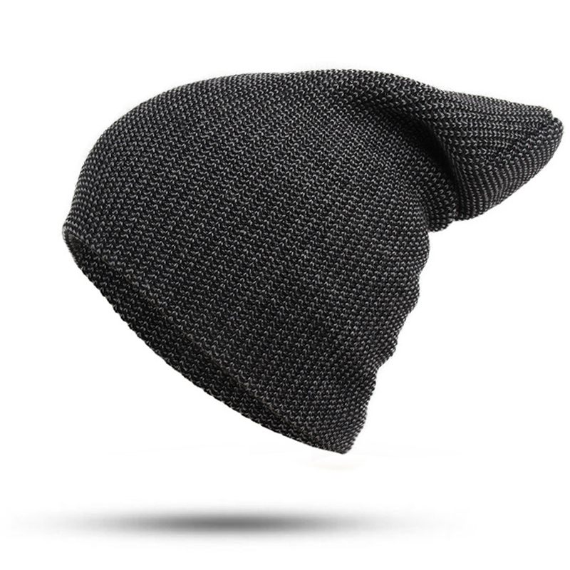 2 Color Wool Winter Hat female Male Unisex knitted Skullies Bonnet Casual Hat For Men Women Colorful Autumn Beanies Caps new winter male and female cartoon glasses color embroidery knitting wool hat warm hat hedging hat skullies m144