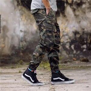 Image 4 - ใหม่แฟชั่นผู้ชาย Streetwear บุรุษกางเกงยีนส์ Jogger กางเกงสบายๆกางเกง Boot Cut กางเกงยีนส์ยุโรป Drop Shipping ABZ175