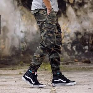 Image 4 - חדש אופנה גברים Streetwear Mens ג ינס מכנסיים אצן נוער מזדמן קרסול מכנסיים אתחול לחתוך ג ינס אירופאי מכנסיים זרוק חינם ABZ175