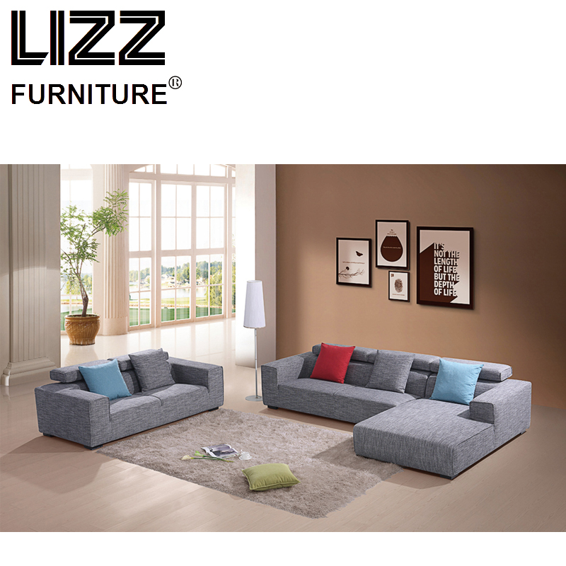 Corner Sofas Loveseat Chair High Quality Fabric Living