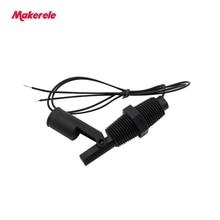110V PP Side Mount Horizontal Float Switch 220V MK-PCFS3 Water Level Sensor Controller Inductance