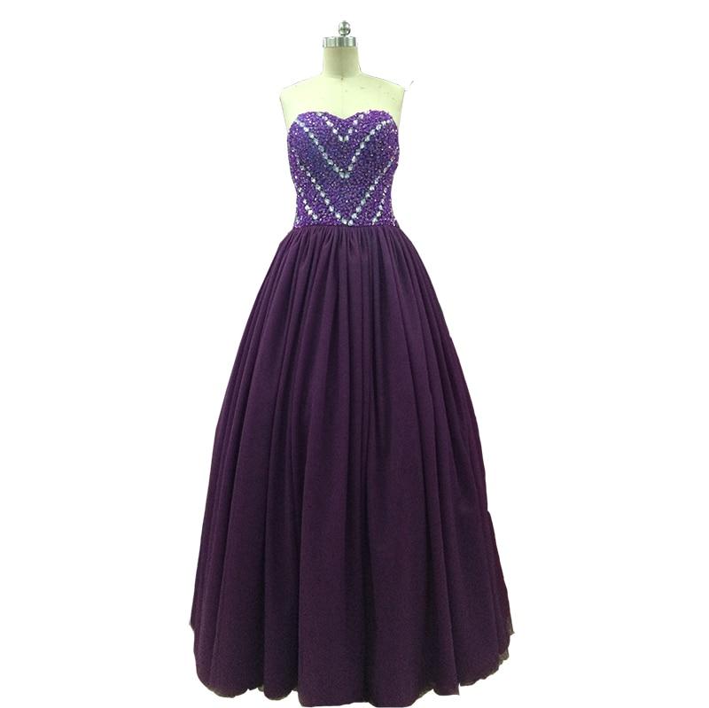 Photo réelle 15 Anos Debutante robes bouffantes robe de bal Quinceanera robes douces 16 robes Quinceanera robes 2018