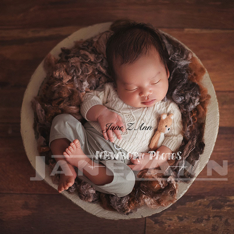 Jane Z Ann Newborn baby sweater suit infant photography props quality baby shower gift studio shooting accessoriesJane Z Ann Newborn baby sweater suit infant photography props quality baby shower gift studio shooting accessories