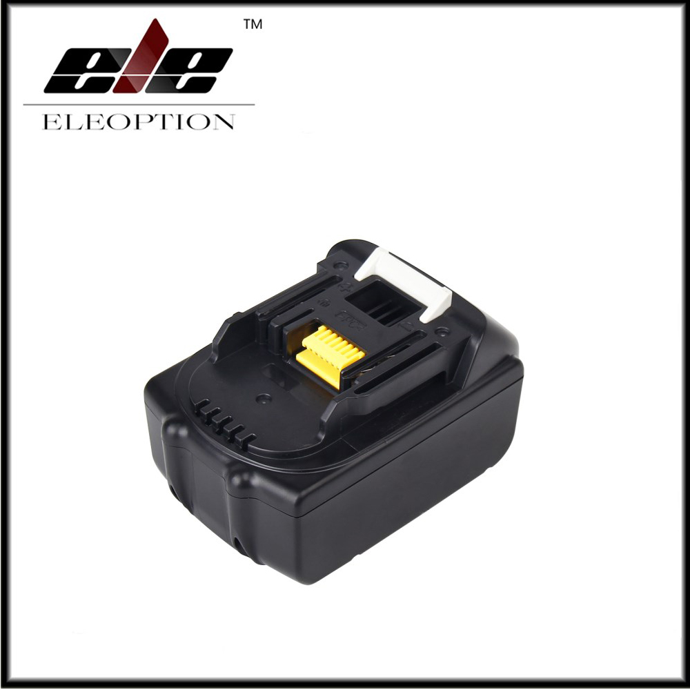 Eleoption 5000mAh 18V Li-ion Replacement Battery for Makita BL1850 BL1830 BL1845 BL1840 LXT 5000mah rechargeable lithium ion replacement power tool battery packs for makita 18v bl1830 bl1840 bl1850 lxt400 194205 3 p25