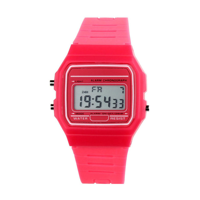 Men Sports Watches Waterproof Back Light LED Digital Watch Chronograph Shock Double Time Wristwatches For Gift #4M16#F 5