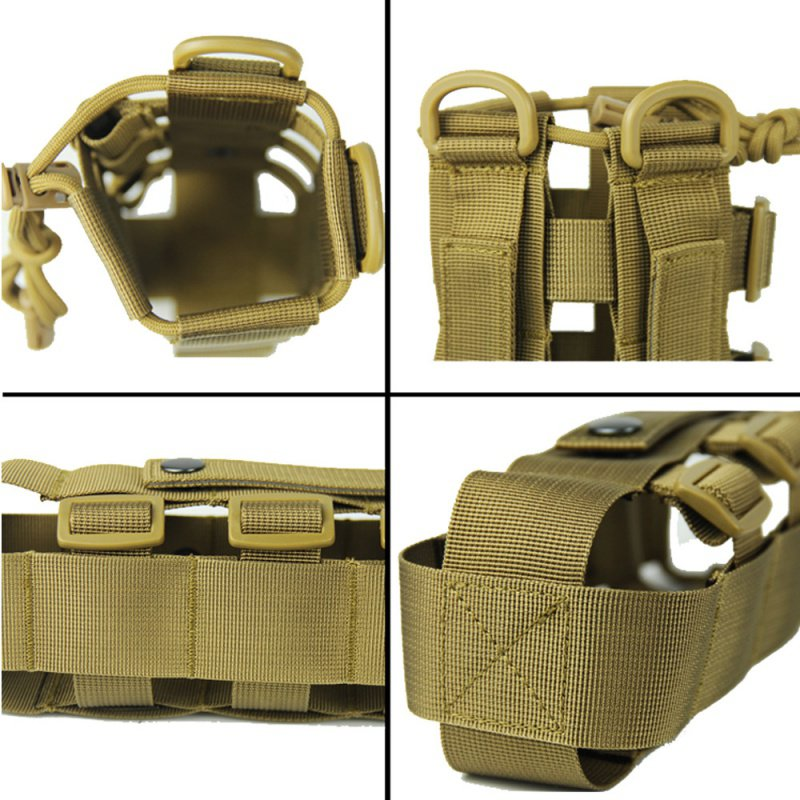 0 5L 2 5L Tactical Molle Water Bottle Pouch Oxford Military Canteen Cover Holster Outdoor Travel Kettle Bag Men 39 s Sportswear in Water Bags from Sports amp Entertainment