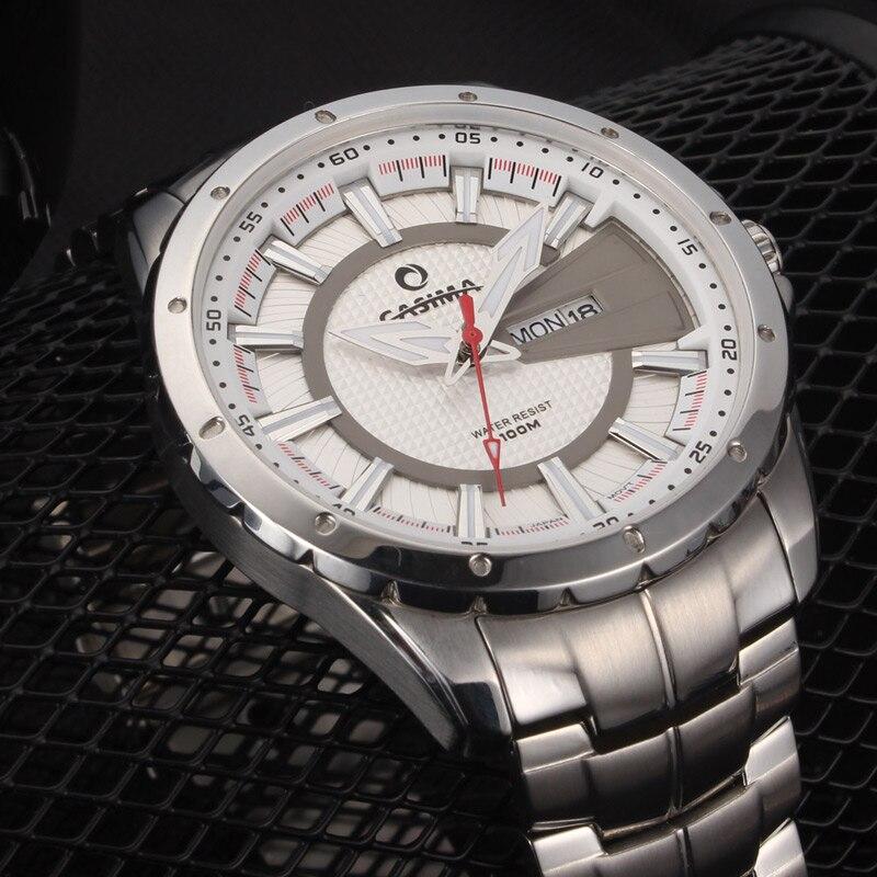 High quality luxury brand casima watches men quartz watch 100m waterproof fashion jewelry for Casima watches