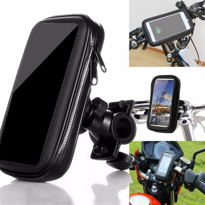 Bicycle Bike Head Tube Handlebar Cell Mobile Phone Bag Case Holder Case Pannier