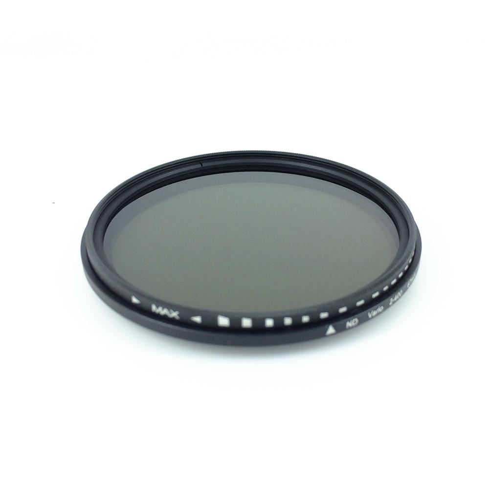 Fader Variable ND ND2-ND400 ND2-400 Filter Einstellbar für 52mm 58mm 67mm 37 46 49 52 55 58 62 67 72 77mm linsen