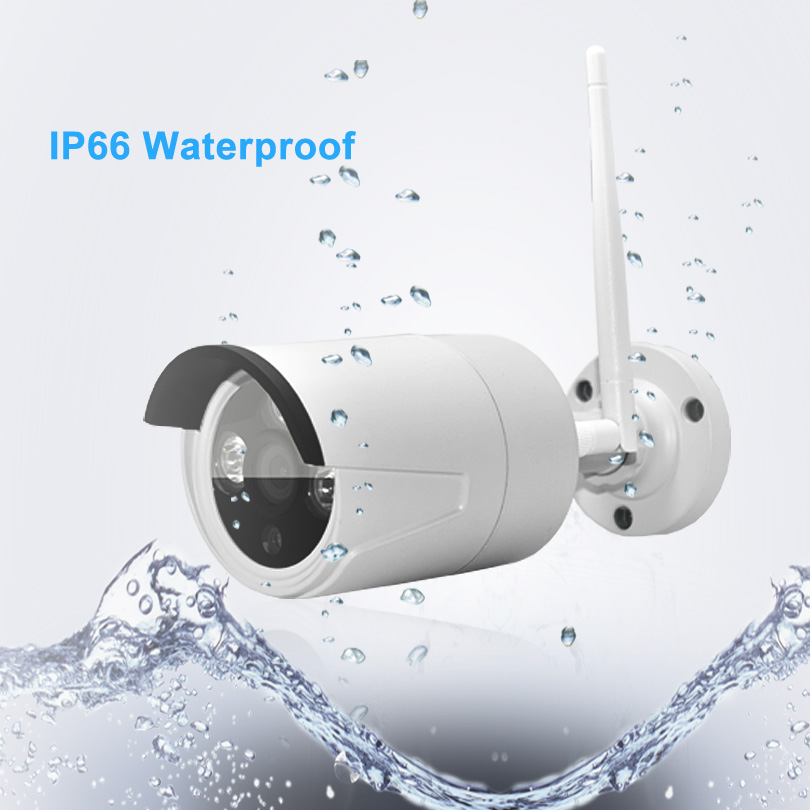 Additional Bullet Camera Camera-To-Work Wifi Night-Vision Waterproof Outdoor 1080p Wireless