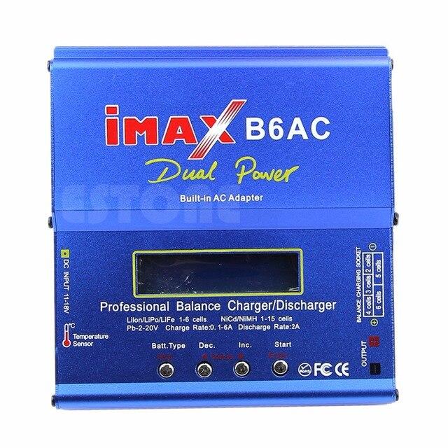 EU Plug 80W iMAX B6AC Balance Charger Charging For Lipo Polymer NiMH NiCd Battery