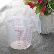1000 мл мерный кувшин чаша кончик рот пластиковый мерный кувшин мкерные стаканчики поверхность готовка кухонная Выпечка инструменты для приготовления воронка
