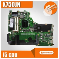 X750JN материнская плата для ноутбука asus с i5 CPU GT840M DDR3 60NB6660-MB1110 100% полностью протестированная материнская плата