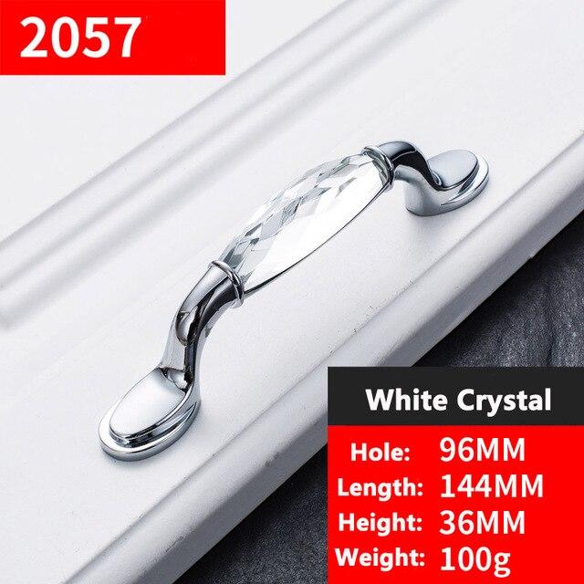 Luxury Crystal Door Handles meubelknoppen handvatten Wardrobe Drawer ...