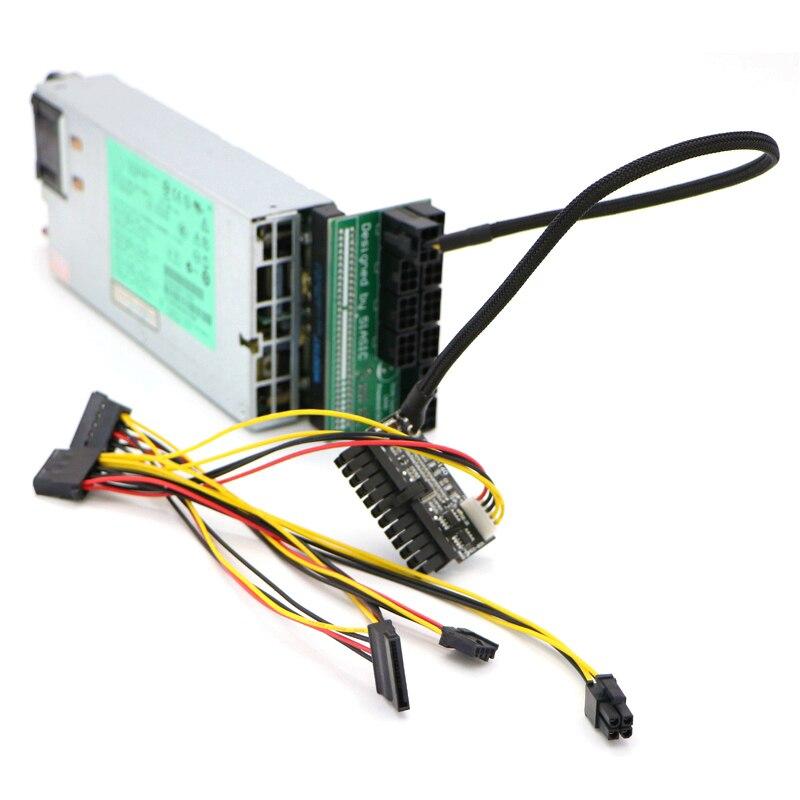 все цены на 20pcs/Lot PICO-PSU 160Watt 24Pin ATX Power Module With PCI-E 6Pin Connector. онлайн