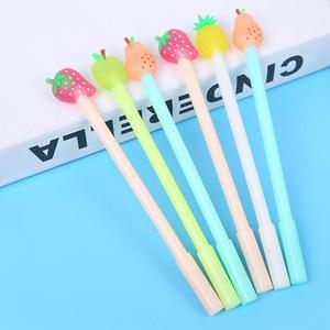 Image 5 - Jonvon Satone 40 Pcs 도매 어린이 쓰기 펜 과일 펜 귀여운 아이 물 기반 펜 Kawaii 편지지 학교 용품에 대 한