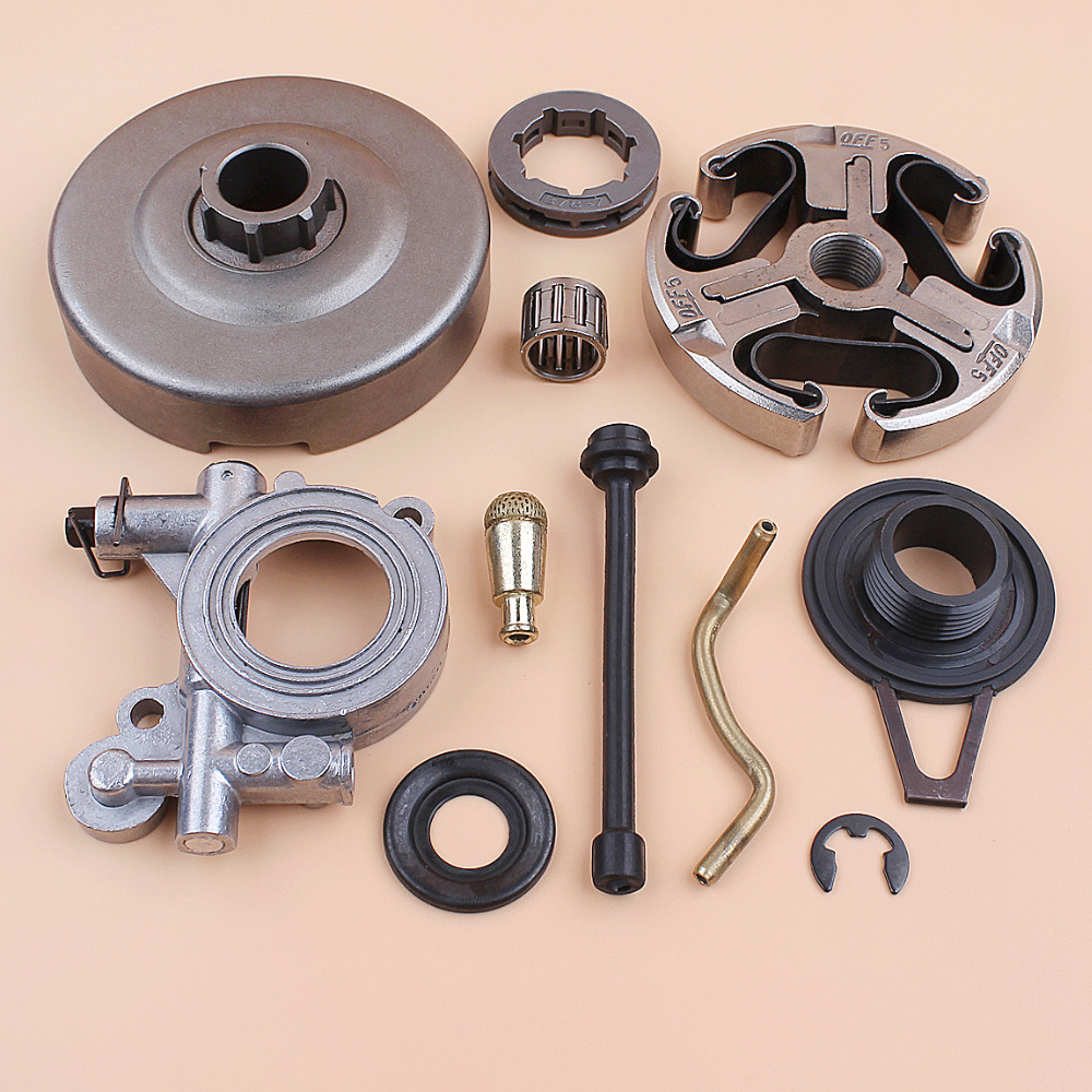 Clutch Drum Cage Bearing Oil Pump Worm Gear For HUSQVARNA 365 362 371 372 372XP Chainsaw 503 93 24-71, 503 43 20-01