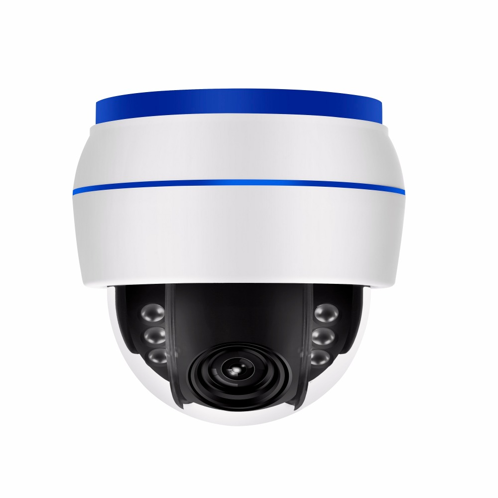 2MP Onvif Wireless HD 1080P WIFI PTZ IP camera 2.7-13.5mm 5X optical zoom Built-in MIC  Support 128G  card night vision  IR 40M