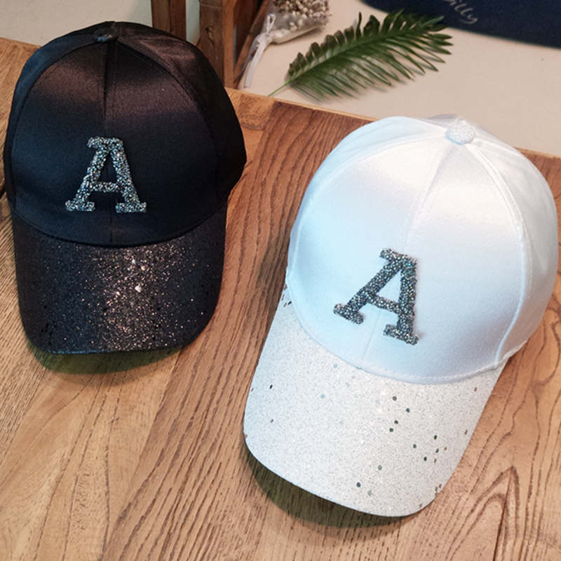 Baseball caps 2019 men's snapback cap dad hat rhinestone summer hat fashion hip hop cap women gorras para unisex beisbol gift 1