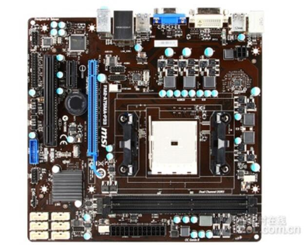 все цены на motherboard MSI FM2-A75MA-P33 FM2 DDR3 A75 desktop motherboard mainboard free shipping