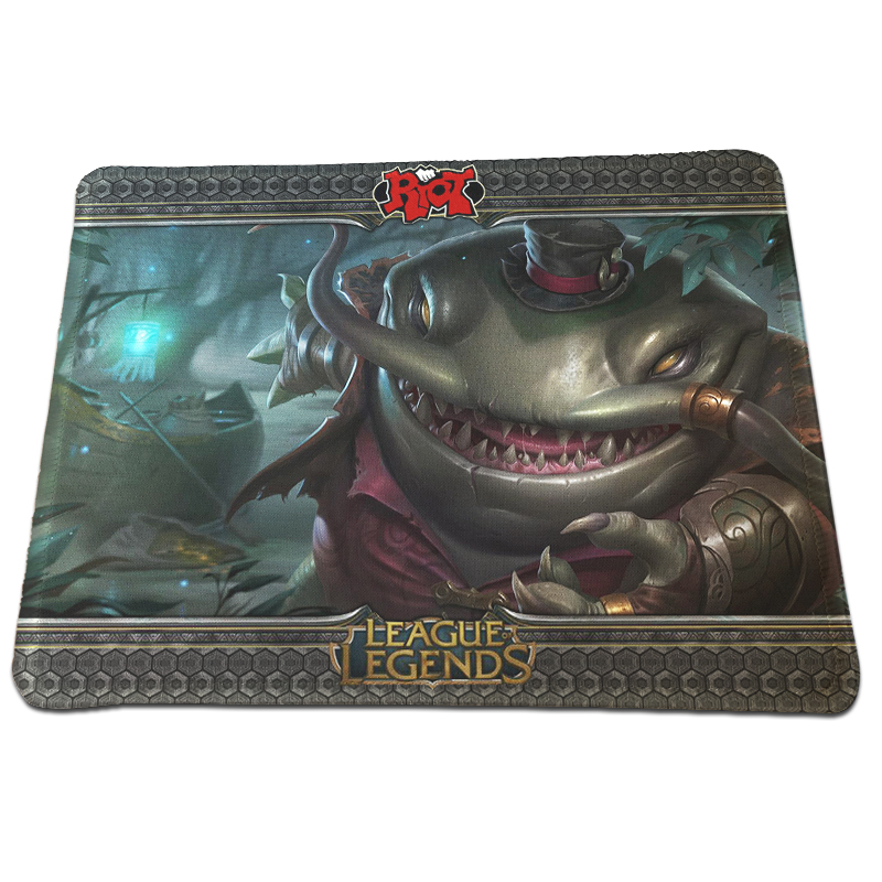 Time Limited League of Legends Printing Mousepad Gaming PC Computer Rubber Rectangle Mouse Pad Durable Optical Speed Mice Mat
