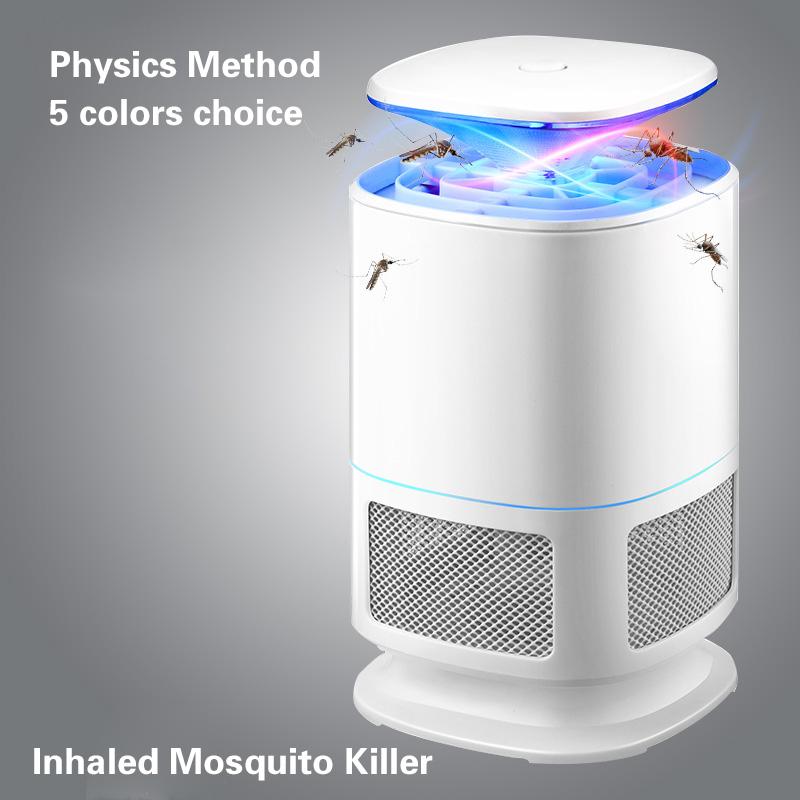Mute Radiationless Photocatalyst UV Pest Killing Light Anti-Mosquito Lamp Repellent USB Electric Mosquito Killer Lamp Trap household photocatalyst led mute usb mosquito killer