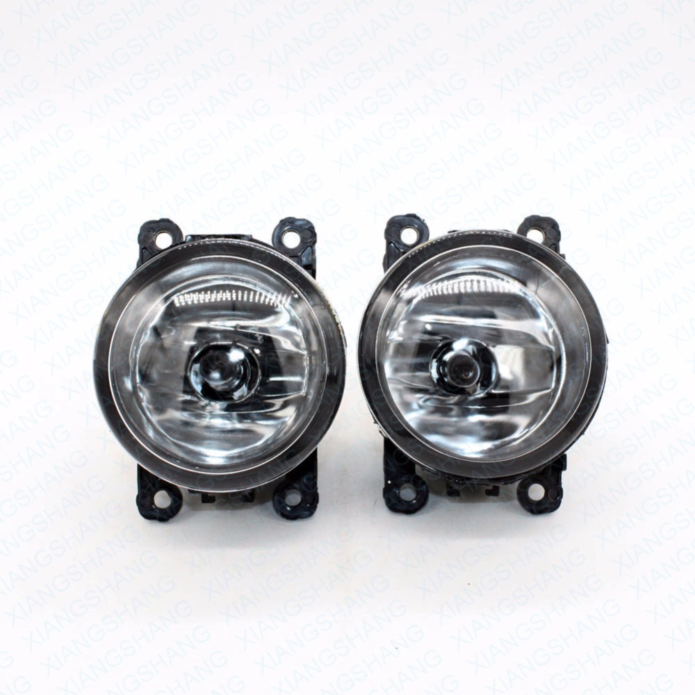 2pcs Auto Right/Left Fog Light Lamp Car Styling H11 Halogen Light 12V 55W Bulb Assembly  For Peugeot 307 Break 3E Estate 2002-07 front fog lights for citroen c5 break estate re 04 15 auto right left lamp car styling h11 halogen light 12v 55w bulb assembly