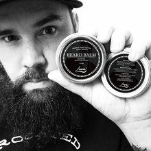 60g 100% Natural Beard Balm Moustache Growth Product Cream Beard Oil Conditioner Beard Balm Beard Styling Moustache Wax