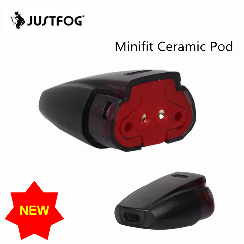 Vape Pod Cartridge Ceramic For CBD Original Justfog Minifit Pod Vape Kit 1 5ml Capacity 1