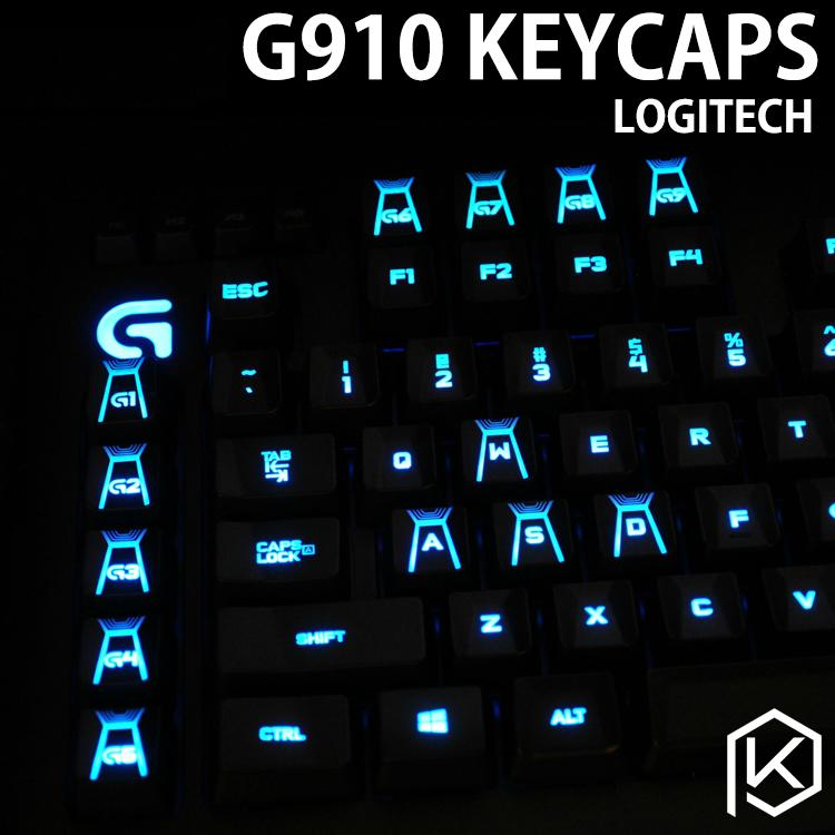 все цены на 113pcs G910 Illuminated Original keycaps for Logitech G910 Mechanical Gaming Keyboard онлайн