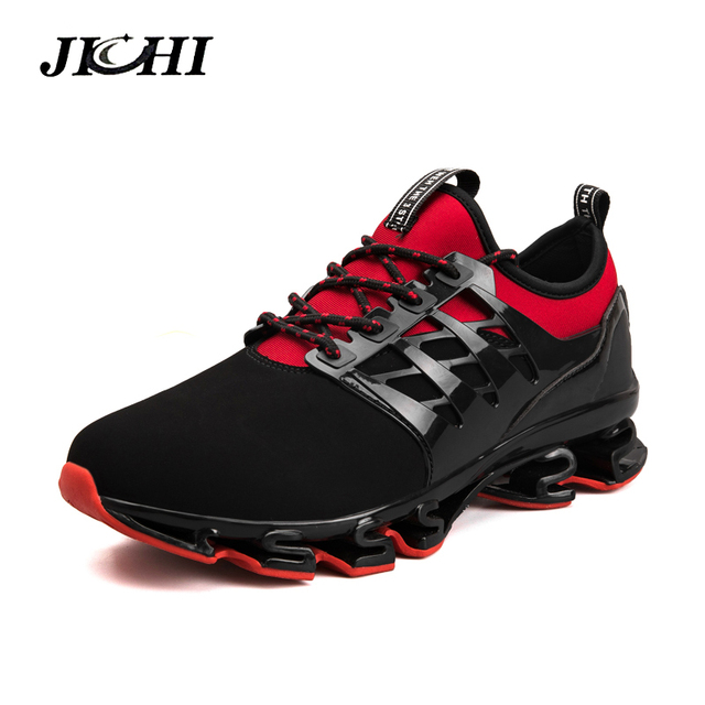 2019 Mens Shoes Casual Slip On Breathable Hot Sale Sneakers Men Shoes Spring Blade Shoes Outdoor Flats Shoes Big Size Men