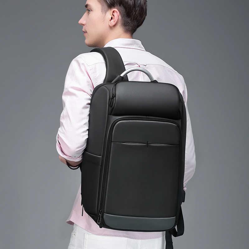 Для мужчин 15,6 дюймов ноутбук рюкзак черный водоотталкивающие многофункциональный мужской Mochila Бизнес туристические рюкзаки UBS зарядки Порты и разъёмы a0006