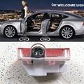 Porta do carro Fantasma luz Sombra LED Bem-vindo Luz Do Projetor A Laser para Mercedes Benz E B C ML Classe w212 w166 w176