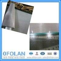 Monel400 Проволочная сетка для Температура Защита окружающей среды с 60mesh * 500*1000 мм