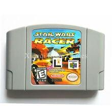 Nintendo N64 Игры Star Wars Episode 1 Racer Игры Картридж Консоли Карты Английский Язык Версия США