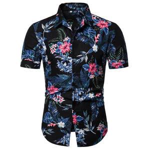 2019 Men Shirt Summer Style Pr