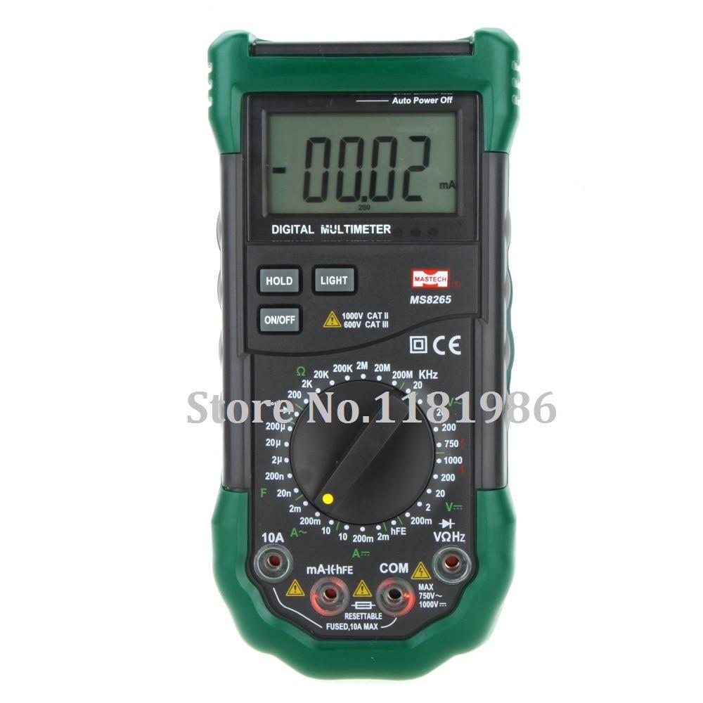 Mastech MS8265 4 1//2 Digital Multimeter