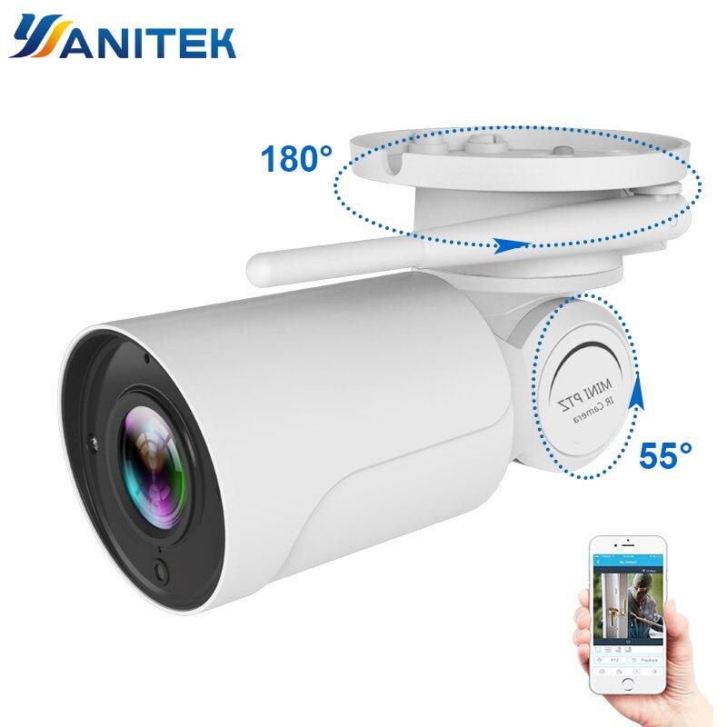 1080P 2MP PTZ IP Camera WiFi Bullet Outdoor Wireless WiFi Waterproof Camera CCTV Security Surveillance 4X