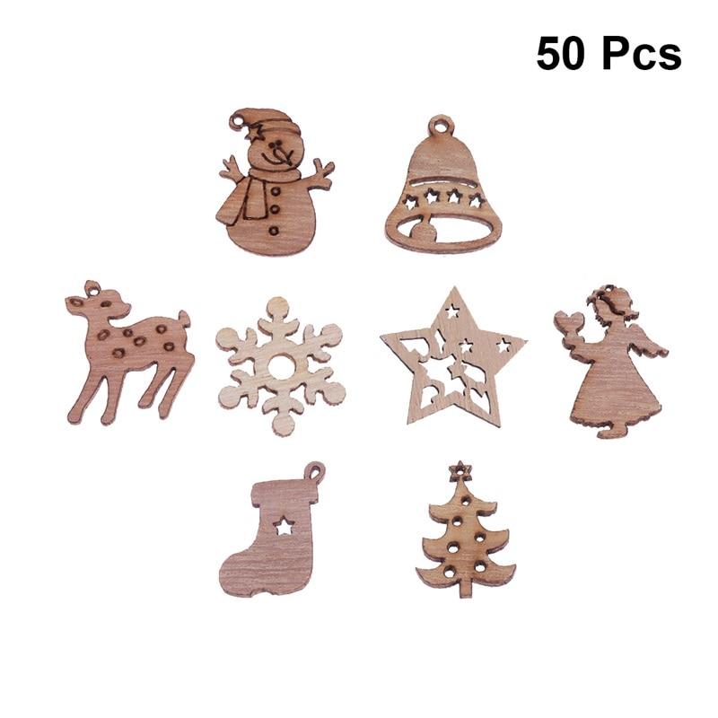 50pcs Mixed DIY Hollow Wooden Butterflies Cutouts Craft Embellishments Ornament