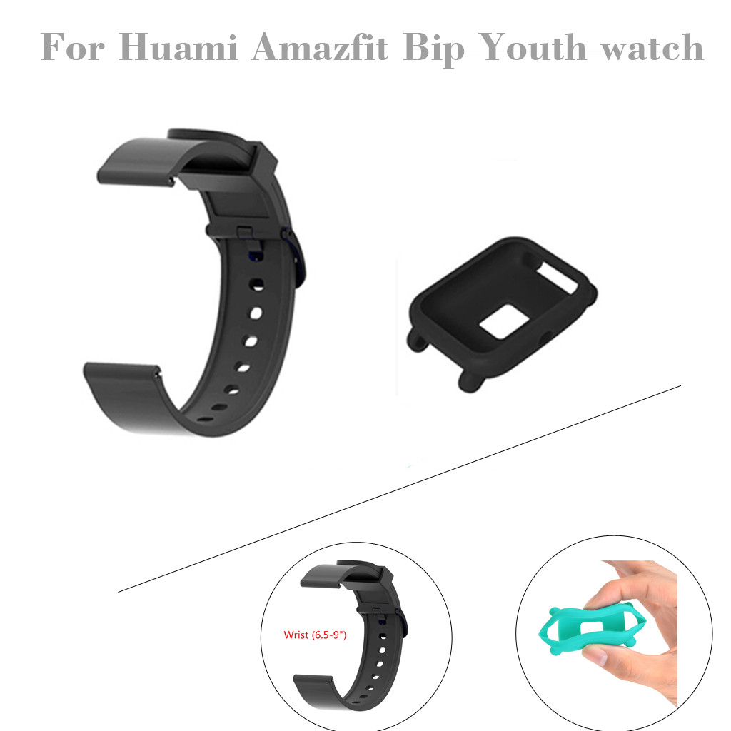 Smartwatch-Band Replacement Huami Amazfit Silicone Potective for Bip Youth
