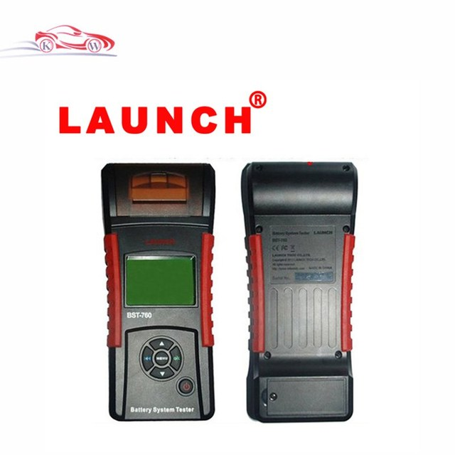 DHL Free Shipping Newly Original Launch X431 BST-760 Battery System Tester bst760 Multi-language BST 760