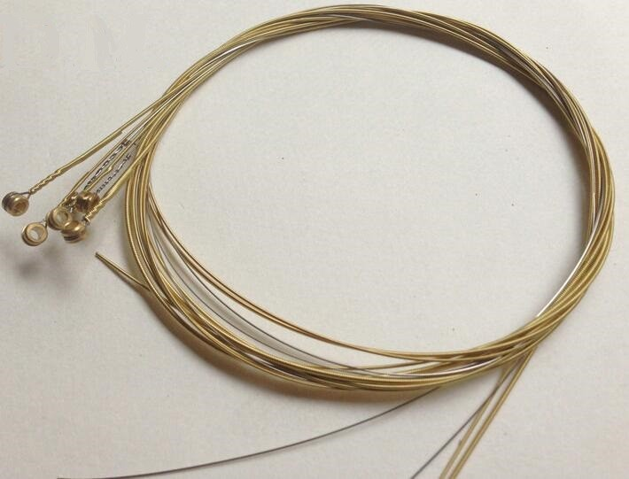 ФОТО free shipping 300pc single string of 010-048 Phosphor Bronze Acoustic guitar string