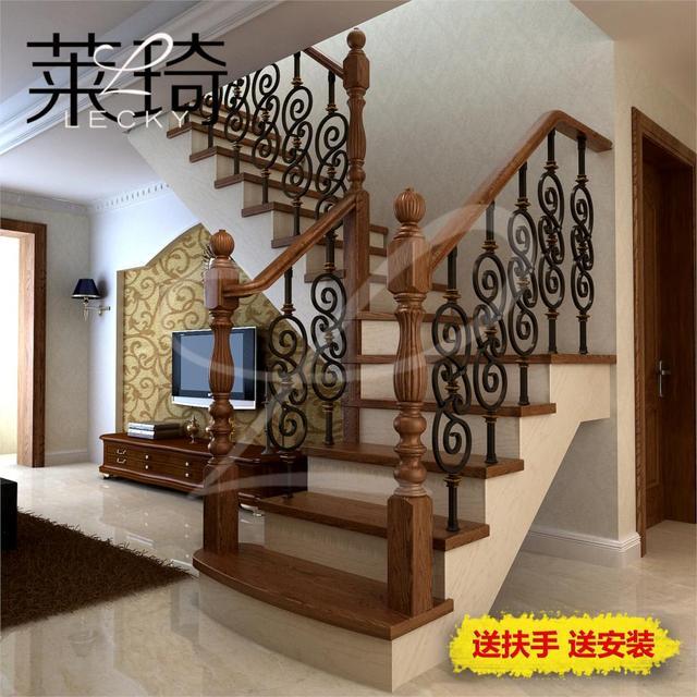 20 fer rampe d 39 escalier escalier en bois garde corps penthouse villa escaliers dans de sur. Black Bedroom Furniture Sets. Home Design Ideas