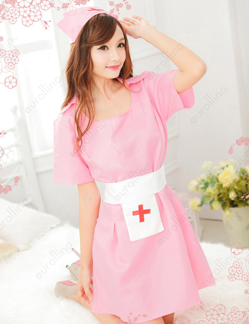 Lovely Asia Nurse Outfit Slutty Naughty Sexy Nasty Dirty Woman Costume Babydoll Hot Chinese Taiwanese Nightingale