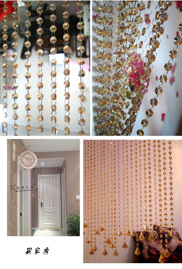 Cheap wedding crystal garland