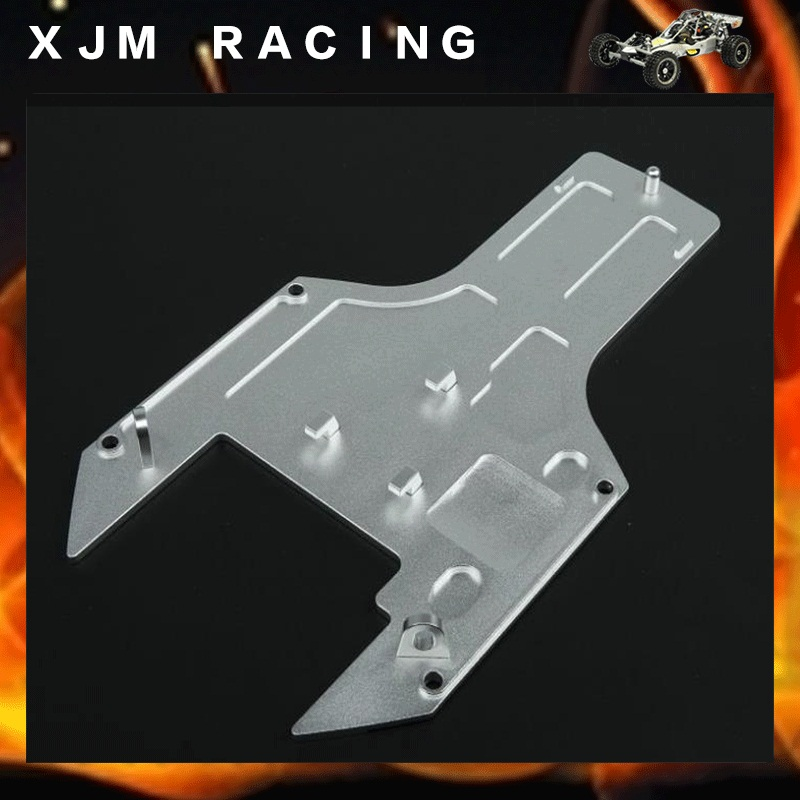 Baja upgrade parts,CNC metal chassis plate for 1/5 hpi rovan km baja engines parts cnc main chassis ts h65001 orange available for baja metal parts baja parts wholesale and retail